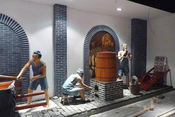 安徽大宇景观雕塑艺术有限公司--安徽黄梅酒业酒文化